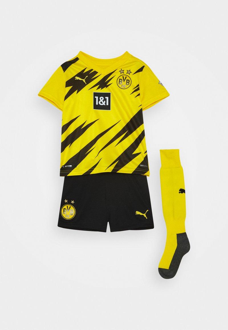 Puma - BVB BORUSSIA DORTMUND HOME MINI KIT - Klubové oblečení - cyber yellow/black