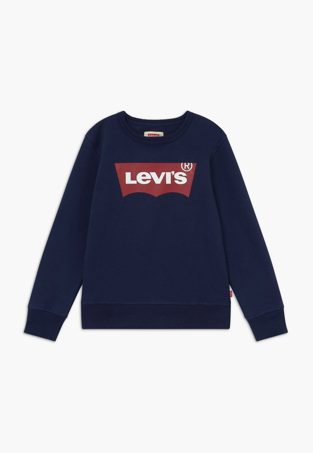 BATWING CREWNECK - Mikina - dress blue