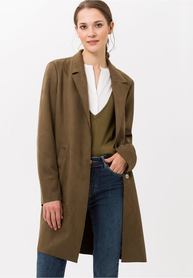 STYLE BERLIN - Manteau court - olive