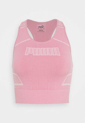 EVOSTRIPE EVOKNIT CROP - T-shirt de sport - foxglove