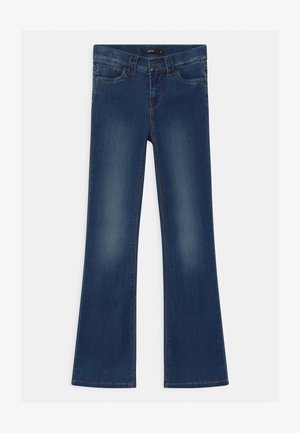 NLFPIL - Bootcut jeans - medium blue denim