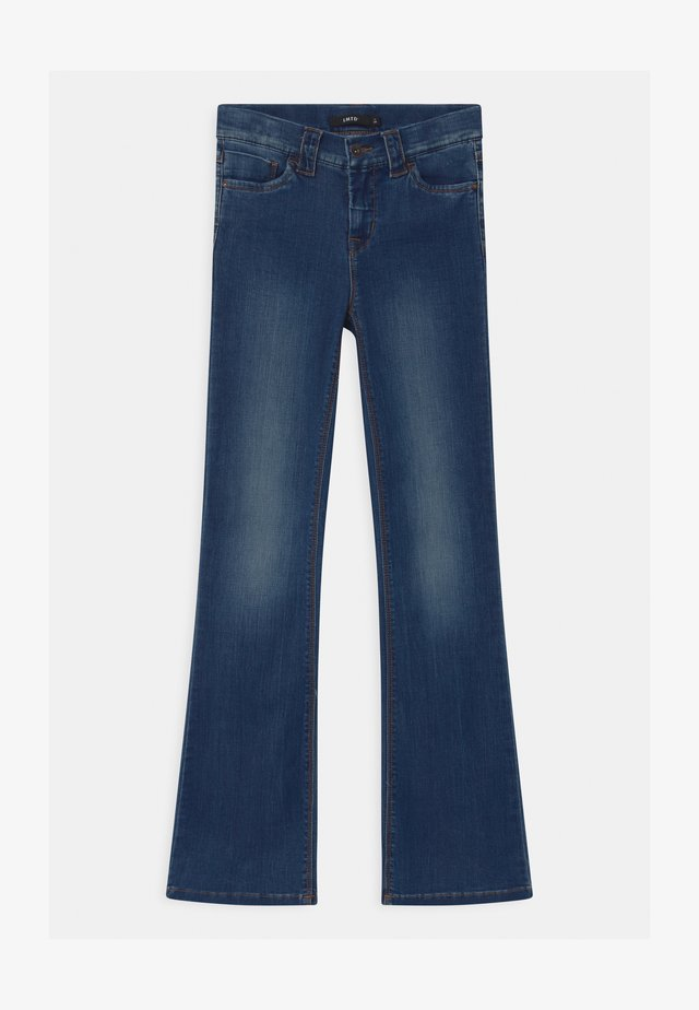 NLFPIL - Jeans bootcut - medium blue denim