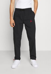 Jordan - PANT - Träningsbyxor - black/gym red - 0