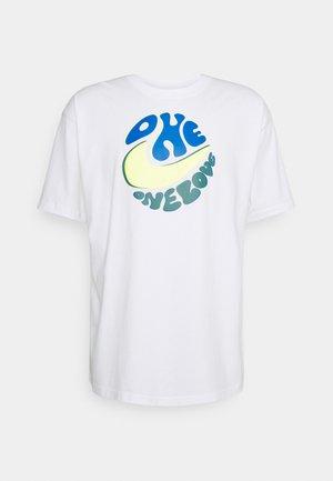 TEE SPORT POWER LOVE - T-shirt con stampa - white