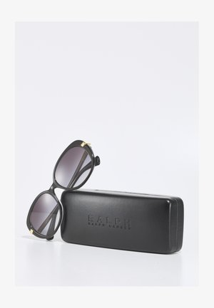 Sluneční brýle - shiny black on crystal