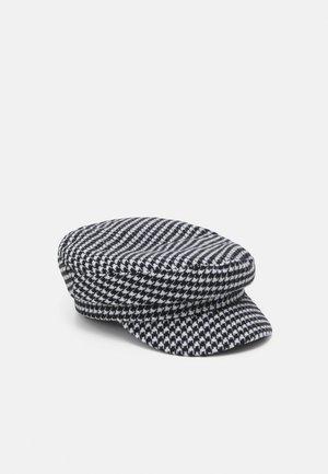 DOGTOOTH HAT - Huer - black