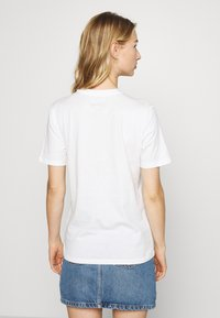 Pieces - PCDISLA  - Print T-shirt - white - 2