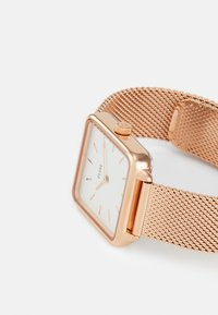 Cluse - LA TETRAGONE - Hodinky - rose gold-coloured/white - 5