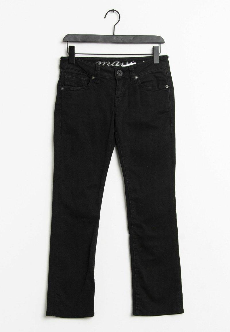 Mavi - Straight leg jeans - black