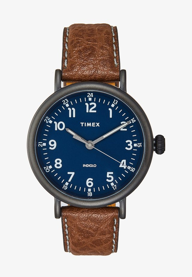 STANDARD - Montre - brown/blue