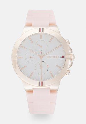 TALIA - Cronógrafo - pink/white