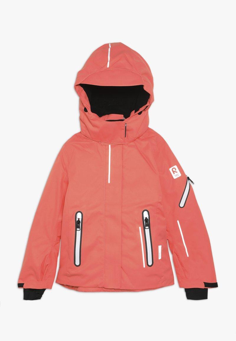 Reima - FROST - Snowboard jacket - bright salmon