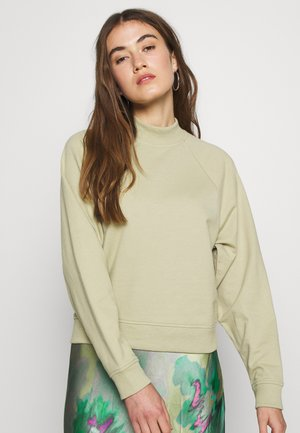 Sweatshirt - sage green