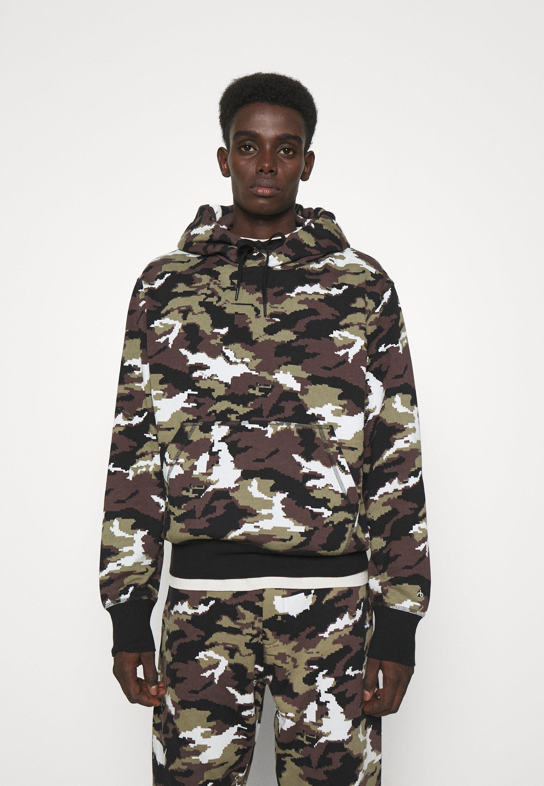 Homme CITY CAMO HOODIE - Sweatshirt