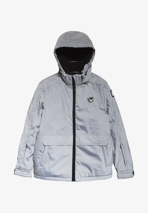 TECHNICAL JACKET - Snowboard jacket - silver reflective