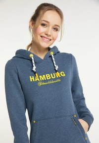 Schmuddelwedda - HAMBURG - Hoodie - marine melange - 3