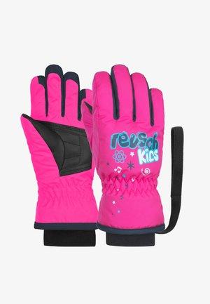 Gloves - pink glo