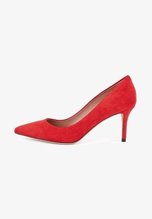 EDDIE - Classic heels - red