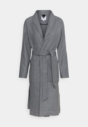 ERIKASZ COAT - Abrigo - cool grey melange