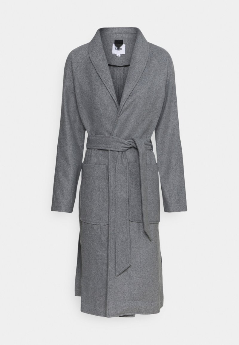 Saint Tropez - ERIKASZ COAT - Classic coat - cool grey melange