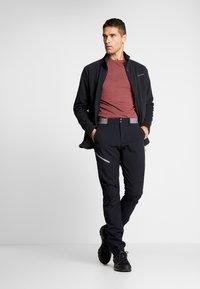 Vaude - MENS ROSEMOOR JACKET - Fleece jacket - black - 1