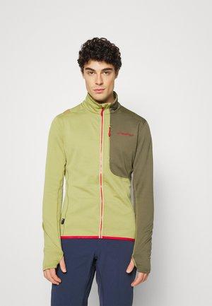 CHILL - Fleece jacket - cedar/ivy