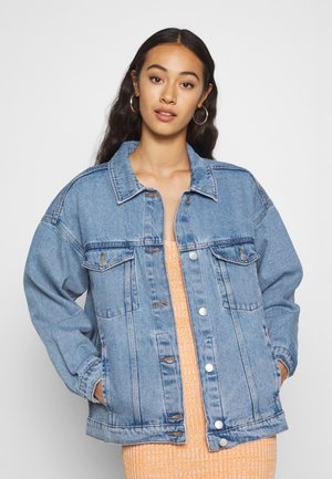 CATHY JACKET - Jeansjacke - blue dusty light