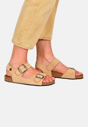 CAJOU F2G - Walking sandals - beige