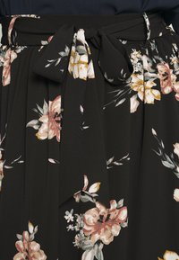 ONLY Carmakoma - CARLUXCILLE MIDI BELT SKIRT - A-line skirt - black - 4