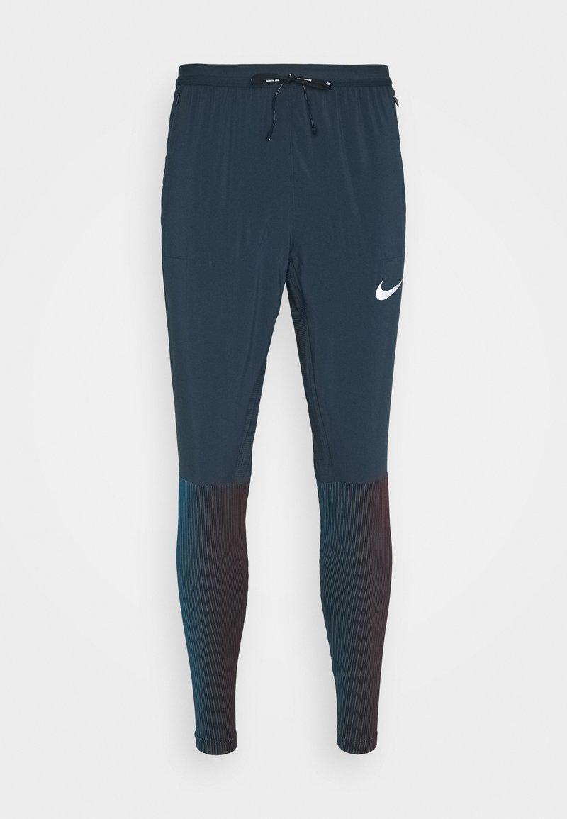 Nike Performance - ELITE - Tracksuit bottoms - deep ocean/reflective silver