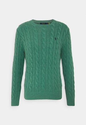 CABLE - Maglione - potomac green heather