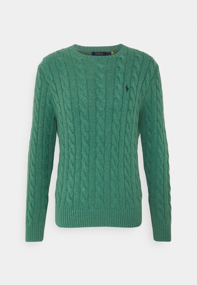 CABLE - Jumper - potomac green heather