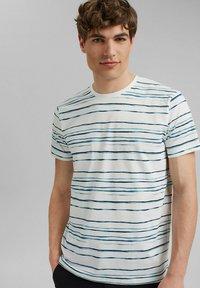 Esprit - T-shirt print - blue - 0