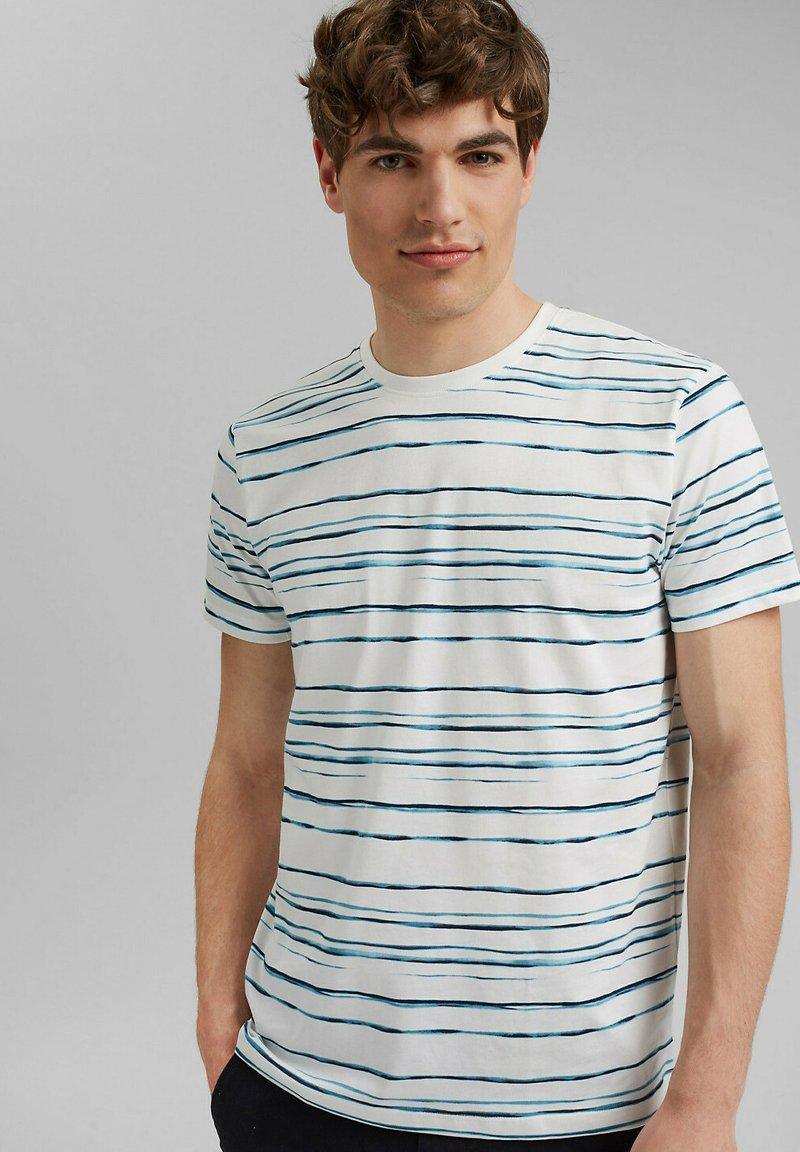 Esprit - T-shirt print - blue