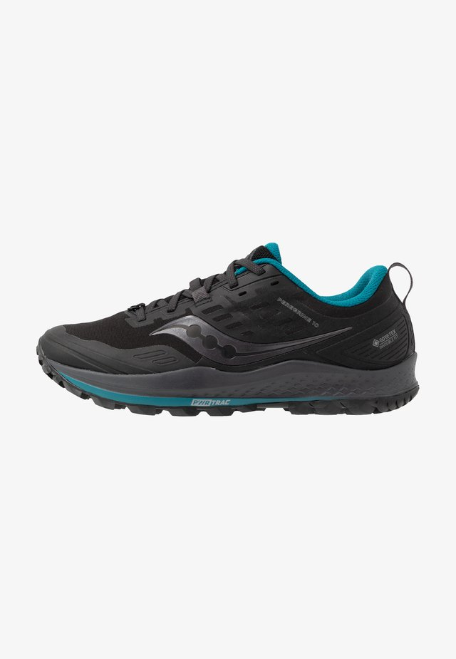 PEREGRINE 10 GTX - Běžecké boty do terénu - black/marine