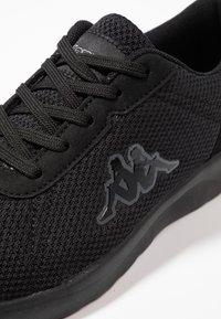 Kappa - TUNES - Scarpe da fitness - black - 5