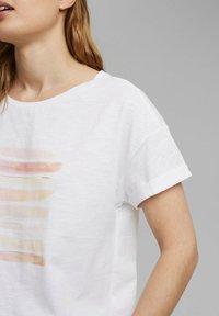 Esprit - Print T-shirt - white colorway - 4