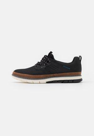 SANDMAN - Volnočasové šněrovací boty - black