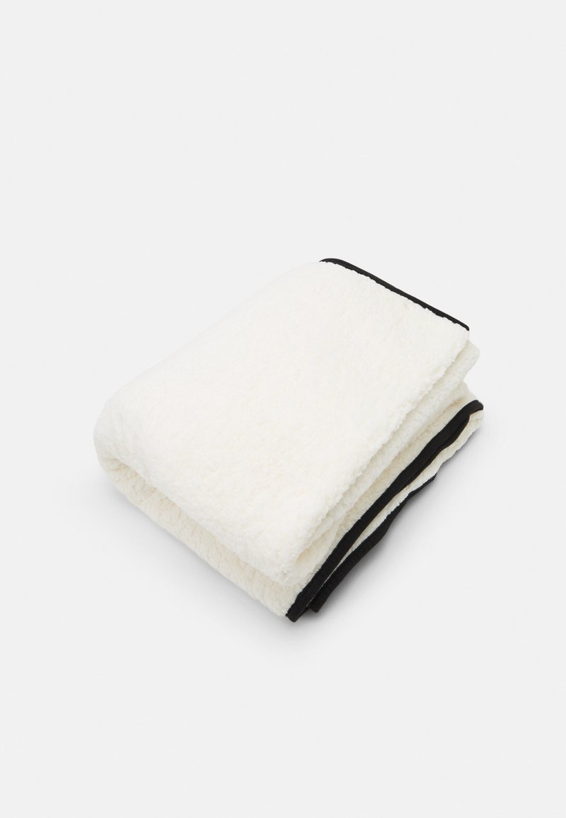 TYPO - CONVERTIBLE CUSHY THROW - Other accessories - mood black