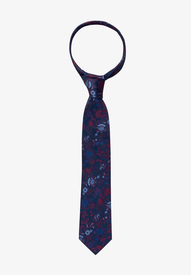 Tie - rot/blau