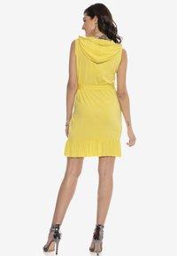 Cipo & Baxx - Jersey dress - yellow - 2