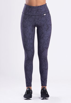 FASHION FORREST - Leggings - black