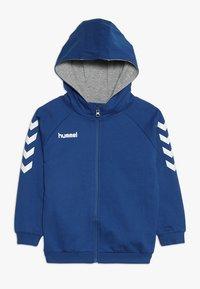 Hummel - HMLGO - Hoodie met rits - true blue - 0