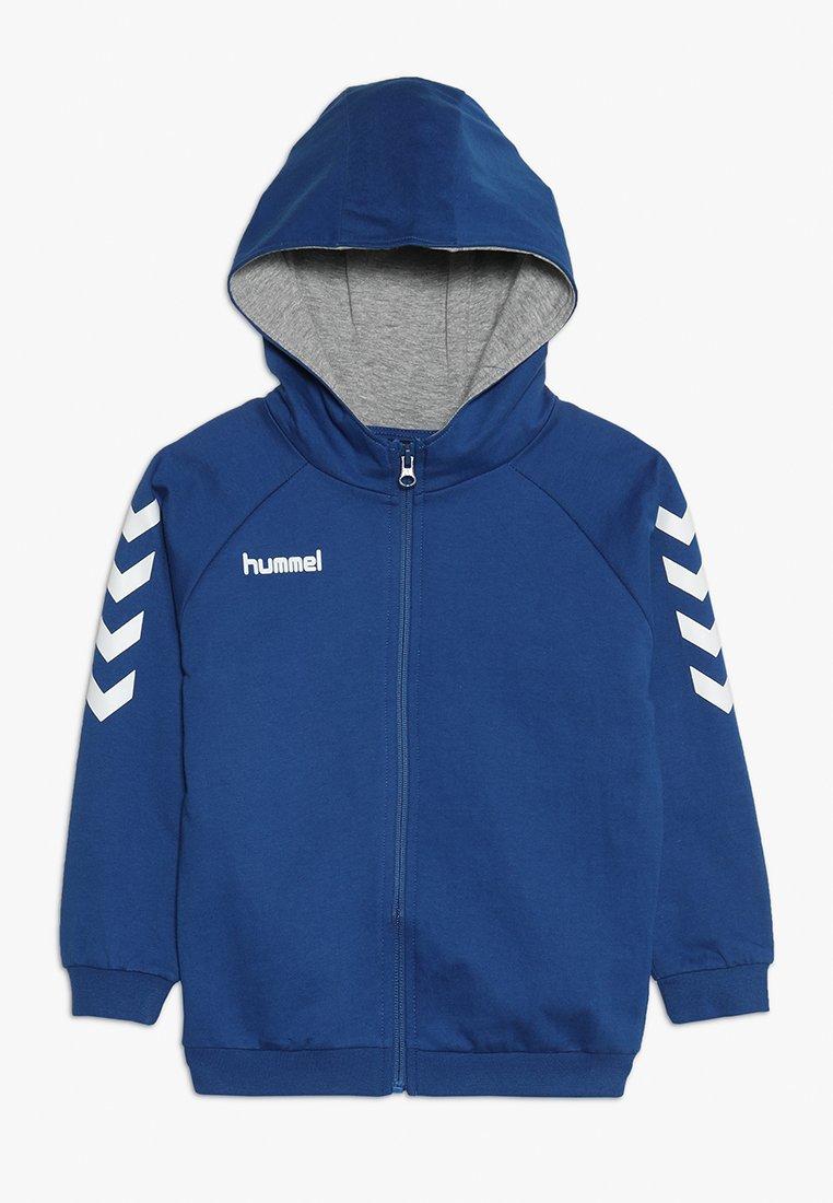 Hummel - HMLGO - Hoodie met rits - true blue