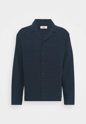 GRANDPA COOL SHIRT LONG SLEEVED - Shirt - deep water blue