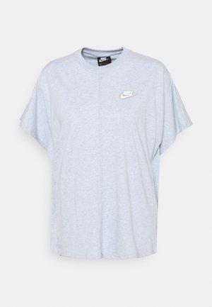 EARTH DAY - T-shirt imprimé - light armory blue/heather white