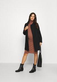 MAMALICIOUS - MLNEWROXY COAT - Short coat - black - 1