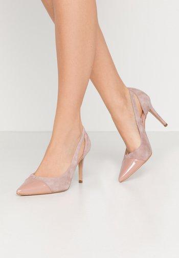 Høye hæler - light pink