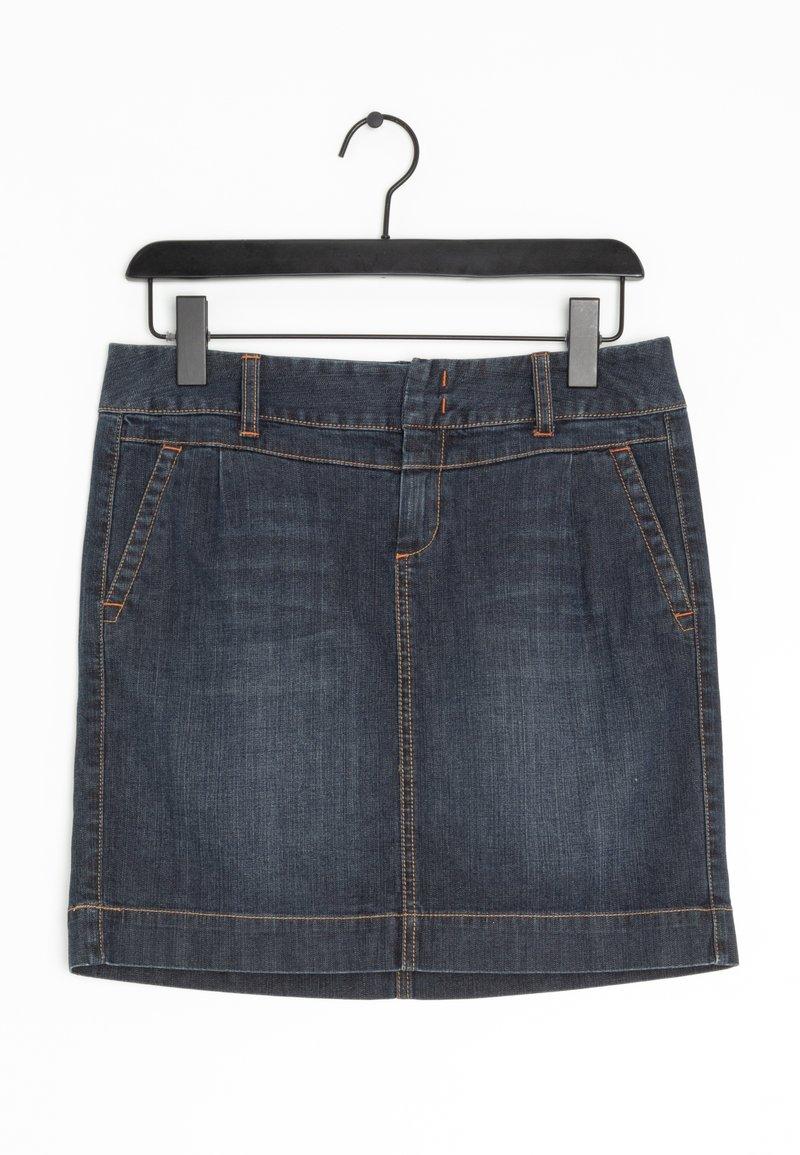 Tommy Hilfiger - Spódnica jeansowa - blue