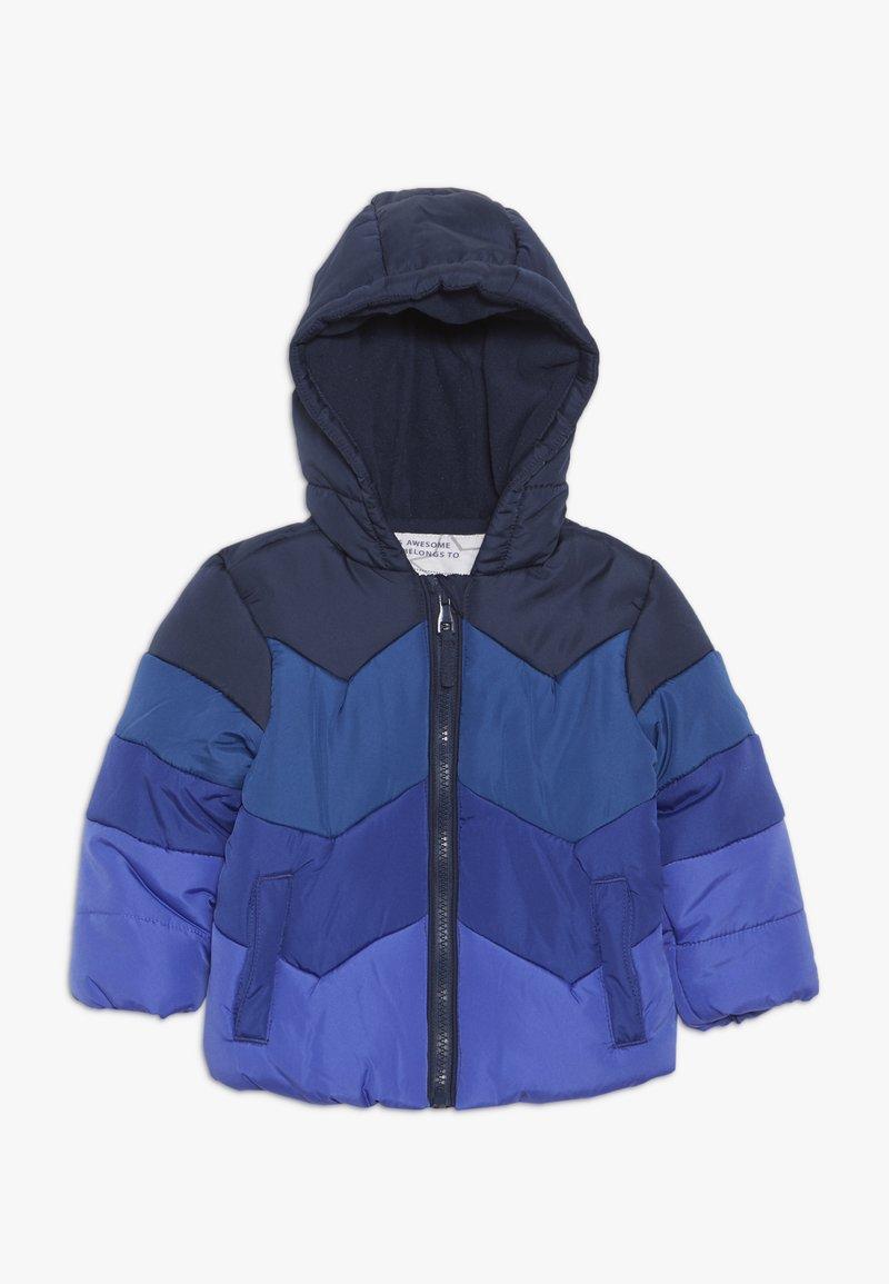 mothercare - BABY JACKET COLOURBLOCK - Winter jacket - blue
